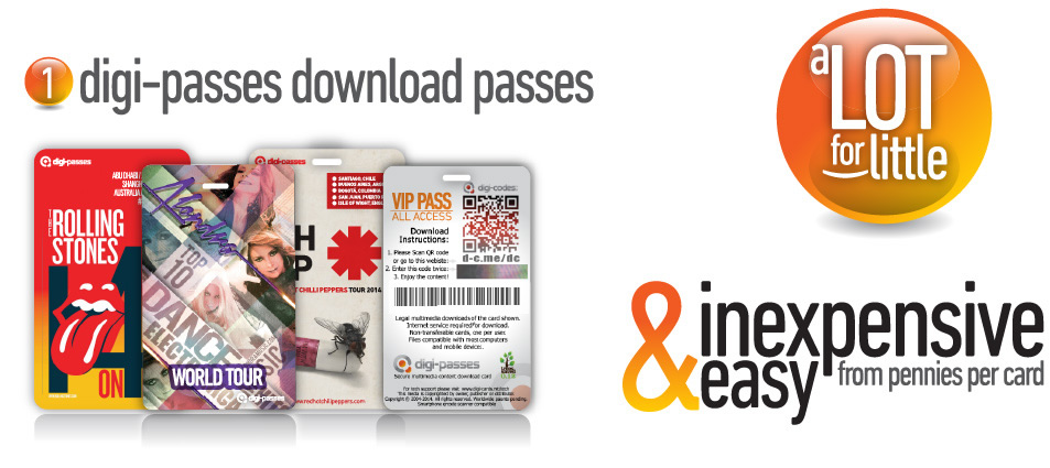 Digi-passes Download-passes